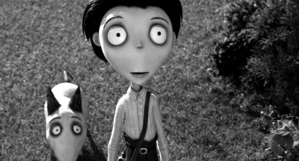 "<b>PG; 1:27 running time</b><br><br> The key archetypes in ""Frankenweenie"" adhere closely to the best-known of the classic Frankenstein films, James Whale's 1931 original and the 1935 ""Bride of Frankenstein."" Victor's Igor-like sidekick and the Vincent Price-inspired science teacher (here voiced by Martin Landau, so sweet as Bela Lugosi in Burton's ""Ed Wood"") set the tone for playfully macabre scares and mildly amusing riffs. But the balance has been tipped toward horror this time, too far for my taste. The monster-movie component of ""Frankenweenie"" stomps all over the appeal of the original 30-minute version. The pathos seems misjudged and a little ruthless; without the proper mixture of chills and whimsy, poor Sparky's fate(s) come close to ""Vertigo"" territory, which is ambitiously morbid territory indeed. And not quite right for ""Frankenweenie."" -- Michael Phillips<br><br><a href=http://www.chicagotribune.com/entertainment/movies/sc-mov-1002-frankenweenie-20121004,0,2191458.column>Read the full ""Frankenweenie"" movie review</a>"