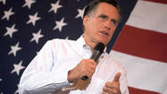 Republican presidential candidate Mitt Romney will deliver a foreign policy speech Monday at Virginia Military Institute in Lexington.