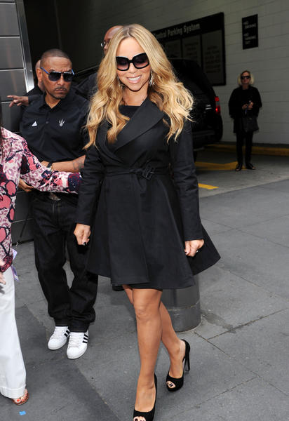 "Mariah Carey attends the ""American Idol"" Judges And Host Photo Call at Jazz at Lincoln Center on September 16, 2012 in New York City.  (Photo by Ilya S. Savenok/Getty Images)"