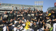 Oakland A's clinch