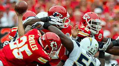 Ravens could attack middle of the Chiefs' offensive line