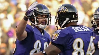 Sunday could be rebound day for Ravens tight ends