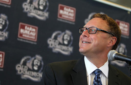 ODU athletic director Wood Selig has spoken with several ACC schools about football scheduling