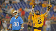Former Salisbury midfielder <strong>Sam Bradman</strong>, the United States Intercollegiate Lacrosse Association Outstanding Player of the Year, was chosen by the Minnesota Swarm with the 24th overall pick (third round) in the National Lacrosse League draft on Monday night.