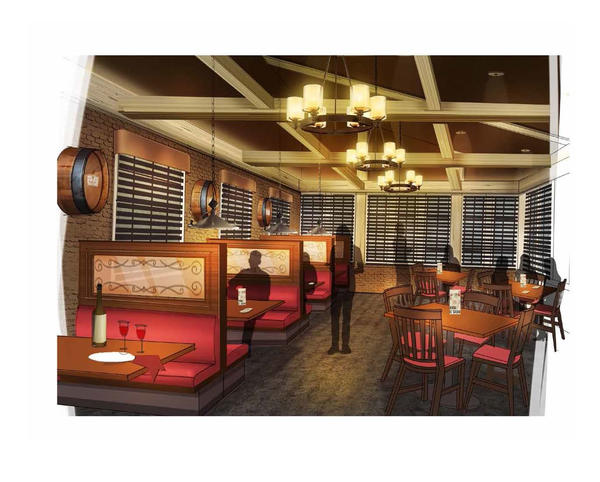 The new Mimi's concept also includes a Winery dining area