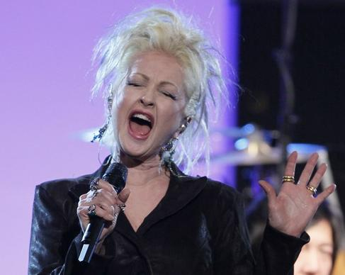 "In ""Cyndi Lauper: A"