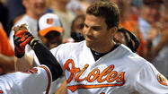 Orioles notes: Chris Davis gets his first taste of postseason against former team