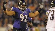 Ravens defensive tackle Haloti Ngata proves a little weight gain doesn't have to slow him down