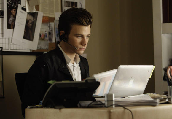 Kurt's too busy with his Vogue internship to talk to Blaine. Boo!