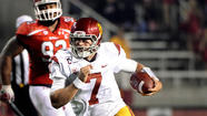 <b>SALT LAKE CITY </b>— His Heisman Trophy gone, his team's national title hopes faded, Matt Barkley probably wondered what else could get snatched from him.
