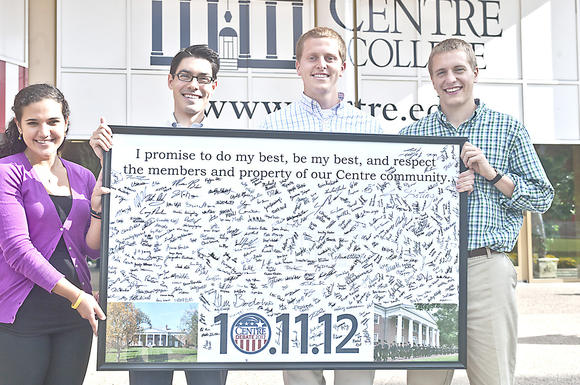 Students offer pledge of civility