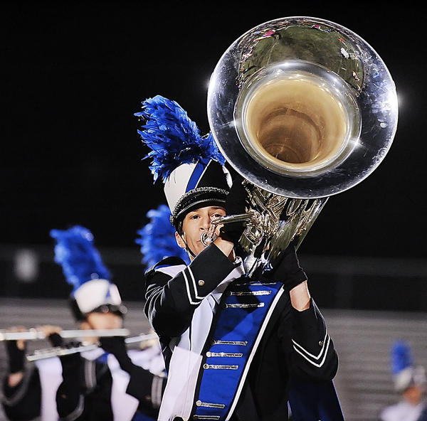 Showcase of Marching Bands will be Tuesday, Oct. 9, at South Hagerstown High School stadium, 1101 S. Potomac St., Hagerstown.