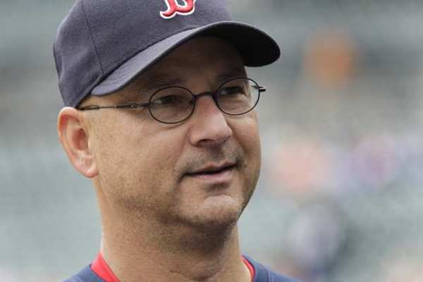 Former Red Sox manager Terry Francona.