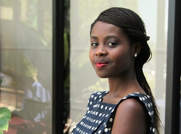 Rwandan genocide survivor Clemantine Wamariya.