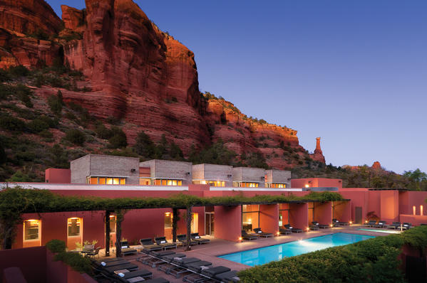 Mii amo, a destination spa at Enchantment, in Sedona, AZ.