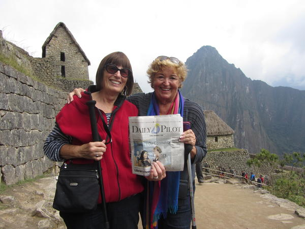 Barbara Carse and Carol Tomlinson visited Peru in September and went to Machu Picchu, seen here, Lake Titicaca and more.