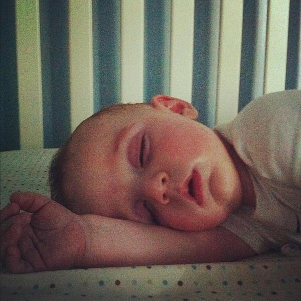 Sleeping baby!