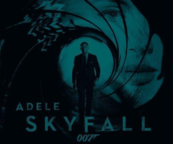 "Adele's ""Skyfall"" has arrived, and initial listens reveal a song that has far more to recommend it than not. Adele's first new song since her massive 2011 album ""21,"" ""Skyfall"" belongs less to her than it does to Bond. That is, this is a Bond song at its most traditional, taking its cues from vintage classics in the film's back catalog. ""Skyfall"" foretells good things for this winter's blockbuster-to-be. It's not a reimagining or a musical departure, but simply a righting of the ship. The song is big, bold and seems to have a little spot-o-fun.  <br><br> <strong>Full story:</strong> <a target=""_blank"" href=""http://www.latimes.com/entertainment/music/posts/la-et-ms-adeles-skyfall-bond-review-20121004,0,4303255.story"">Adele's 'Skyfall' is in tune with James Bond history</a> 