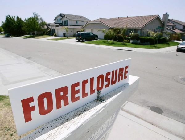 Foreclosures are partly why many cities in California such as Stockton, pictured above, are facing serious financial difficulties.