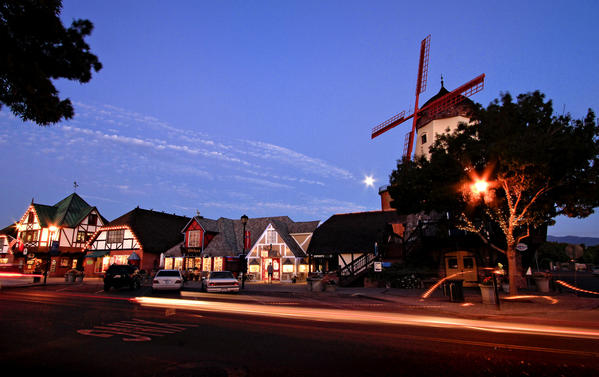 Solvang, founded in 1911 by Danish educators as a little slice of Denmark in the California outback, might be the global capital of windmill kitsch.