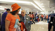 Shoppers flock to reopened Boscov's at White Marsh Mall