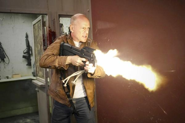 "Bruce Willis as Joe in ""Looper."""