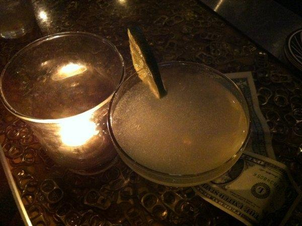 """The Silver Lake rock club the Satellite is starting a mixology program called """"Mixology Mondays."""" Pictured here: a classic daiquiri."""