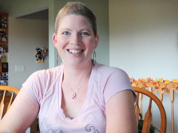 Niki Zikmund of Aberdeen found many positive experiences came from her battle with breast cancer.