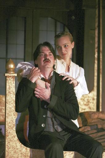 """The Madness of Edgar Allan Poe: A Love Story"" is staged at the Mayslake Peabody Estate."