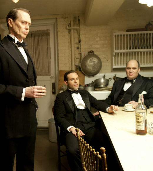 'Boardwalk Empire' Season 3: Steve Buscemi as Nucky Thompson; Anatol Yusef as Meyer Lansky; Glenn Fleshler as George Remus