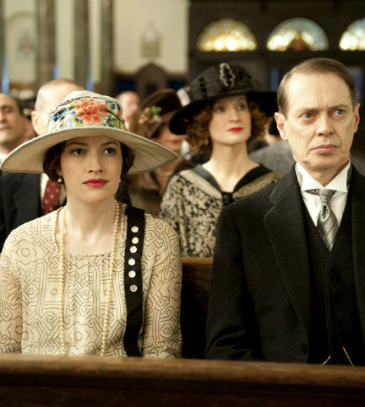 Kelly Macdonald as Margaret Thompson; Steve Buscemi as Nucky Thompson