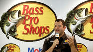 NASCAR champion Tony Stewart has signed Bass Pro Shops as his primary sponsor for 2013.