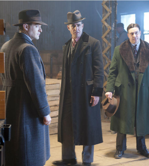 'Boardwalk Empire' Season 3: Charlie Cox as Owen Sleater; Bobby Cannavale as Gyp Rosetti; Chris Caldovino as Tonino