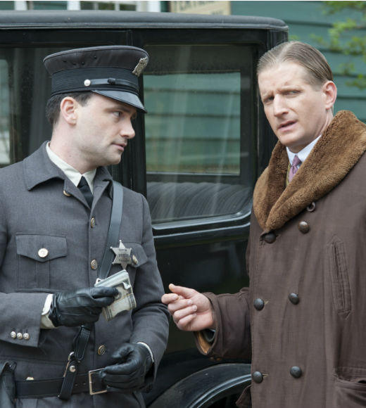 'Boardwalk Empire' Season 3: Marc D. Donovan as Deputy Ramsey; Paul Sparks as Mickey Doyle