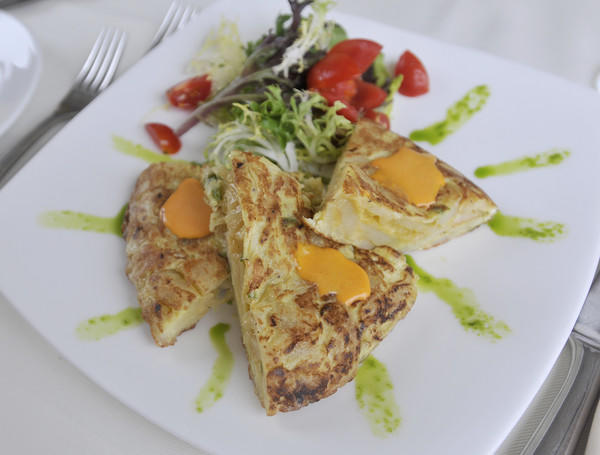 "Tortilla de Patatas at <a href=""http://www.costadelsolrestaurant.net/"">