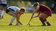 Hereford celebrates victory over Dulaney in field hockey
