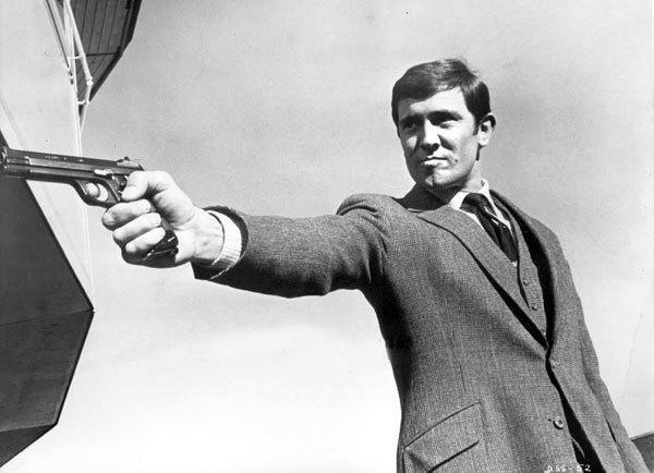On Her Majesty's Secret Service (1969) One and done, that's our man George Lazenby. But hey, the lovely Ms. Emma Peel is our Bond Girl (or should we say Bond wife) in this one.