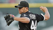 Jake Peavy in action