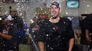 Scenes from the Orioles' clubhouse celebration
