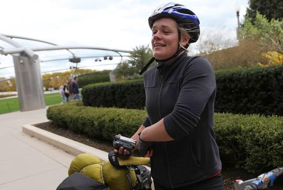 3 seconds: Lydia Davitt, 24, Minneapolis, Minn.