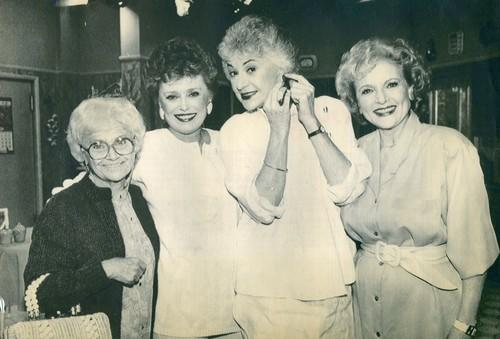 "The ""Golden Girls"" in 1985: <a class=""taxInlineTagLink"" id=""PECLB001915"" title=""Estelle Getty"" href=""/topic/entertainment/television/estelle-getty-PECLB001915.topic"">Estelle Getty</a>, left, <a class=""taxInlineTagLink"" id=""PECLB003168"" title=""Rue McClanahan"" href=""/topic/entertainment/rue-mcclanahan-PECLB003168.topic"">Rue McClanahan</a>, Arthur and <a class=""taxInlineTagLink"" id=""PECLB003959"" title=""Betty White"" href=""/topic/entertainment/betty-white-PECLB003959.topic"">Betty White</a>."
