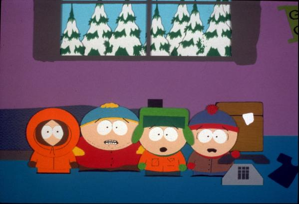 South Park had just premiered on Comedy Central.