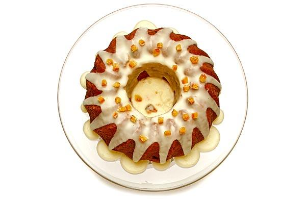 Norwegian orange cake