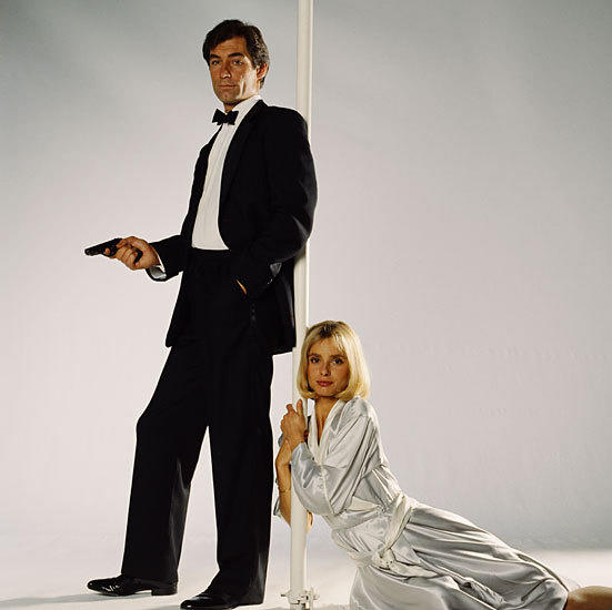 Pictures: 50 years of James Bond movies: The Living Daylights (1987) Timothy Dalton managed to eke out two Bond films to avoid the dubious distinction of one and done. Our guy Lazenby hangs on to the title.