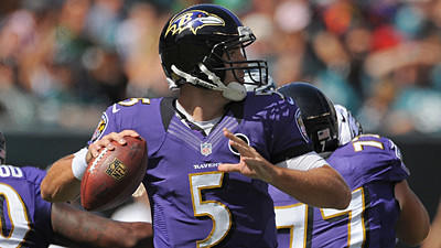 Numbers show that the offense is carrying Ravens