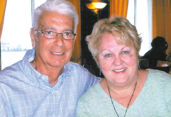 Jack and Barbara Ewald pose for this picture taken on a cruise to Bermuda in 2007.