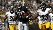 The Pittsburgh Steelers, typically the NFL's premier run-stopping team, are tied for 14th in that category this season.