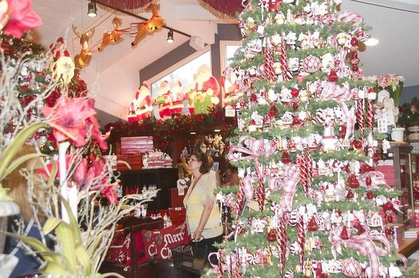 Roger's Gardens opened the 2012 Christmas Boutique on Wednesday.