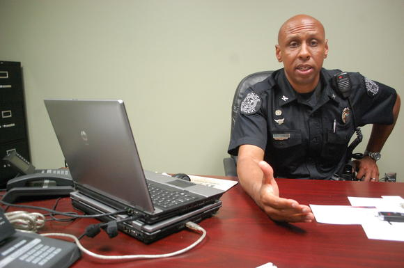 Danville Police Chief Tony Gray