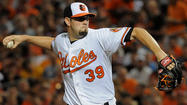 When Orioles right-hander Jason Hammel hobbled off the mound at Camden Yards in the fourth inning of a game against the Tampa Bay Rays on Sept. 11, he didn't think he'd be able to help the O's for a possible postseason run.